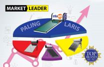 ARTICLE WIKA SOLAR WATER HEATER  Market Leader Paling Laris Top Brands Berturutturut 7 tahun