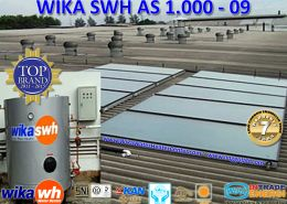 PEMANAS AIR TENAGA SURYA  WIKA SWH  AS 1000  09