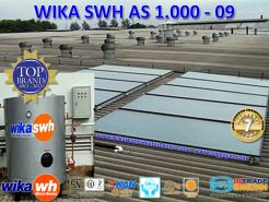 PEMANAS AIR TENAGA SURYA  WIKA SWH  AS 1000  09oo