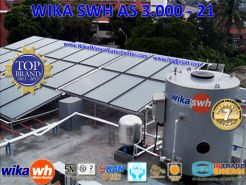 PEMANAS AIR TENAGA SURYA  WIKA SWH  AS 3000  21oo
